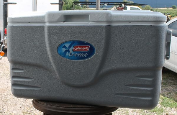 Coleman 52 Qt. XTREME Silver Cooler Ice Chest