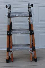 "Gorilla FL-13 13"" Multi-Position Fiberglass and Aluminum Ladder"