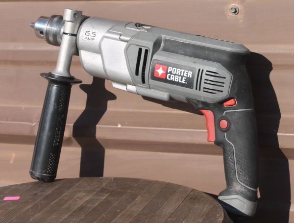 "Porter Cable PC650 HD Variable Speed 1/2"" Hammer Drill 6.5 Amp"