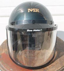 MR Helmet w./Flip Up Snow RiderVisor
