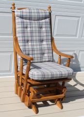 Maple Glider Rocker