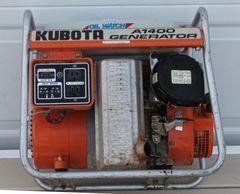 Kubota A1400 Generator