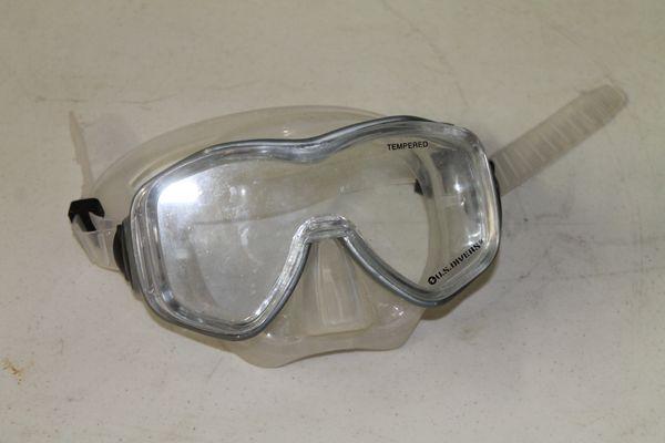 Manta Ray US Divers Goggles