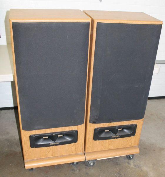 Sharp CP-9800 3 Way Speaker System