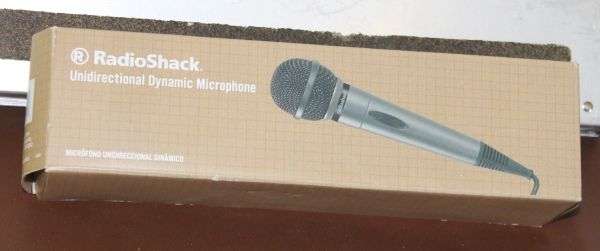 Radio Shack Unidirectional Dynamic Microphone-New