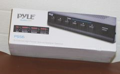 Pyle 6 Channel High Power Speaker Selector-NEW