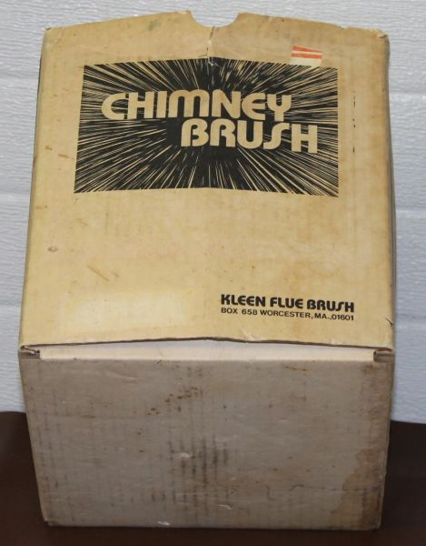"8"" Square Chimney Brush-Like new"