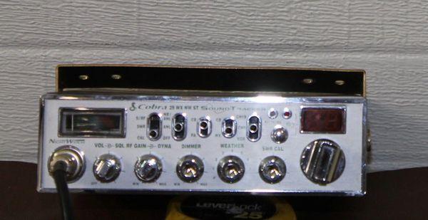Cobra 29WXNWST Sound Tracker CB Radio