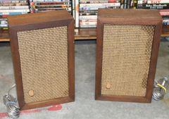 Vintage Knight Box Speakers