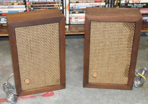 Vintage Knight Box Speakers