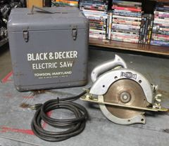 "Vintage Black and Decker 8"" H.D. Circular Lectro-Saw"