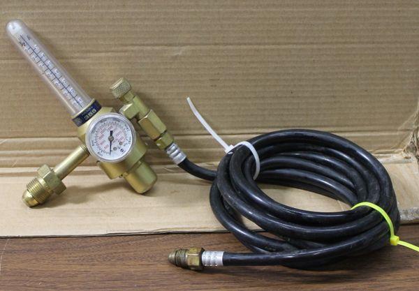 Harris Argon Helium Nitrogen Flowmeter Regulator