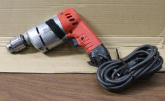 "Milwaukee Reversible Electric 3/8"" Drill"