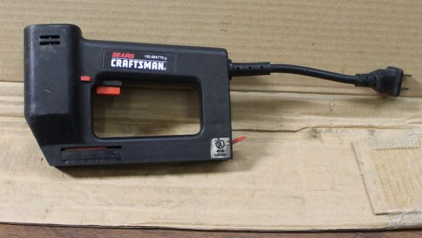 Sears Craftsman Electric Staple Gun