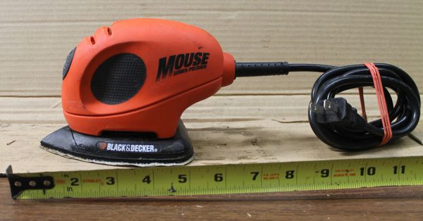 Black and Decker Mouse Electric Sander