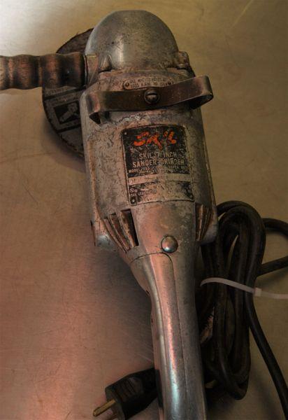 """Vintage SKIL Model 853 7"""" Sander / Grinder"""