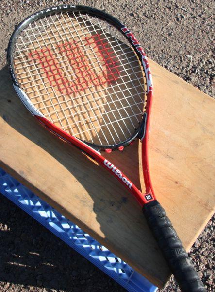 Wilson Impact Volcanic Frame Technology Tennis Racket