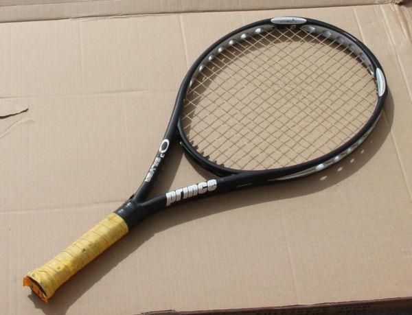 Prince Silver Oversize Tennis Racket