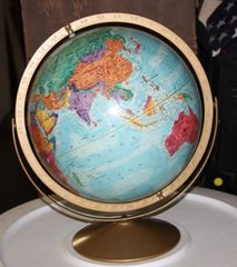 Replogle World Nation Services Globe