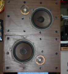Vintage Sylvania Air Suspension Speaker System