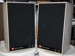 Vintage JBL Control Monitor 3 Way Speaker System