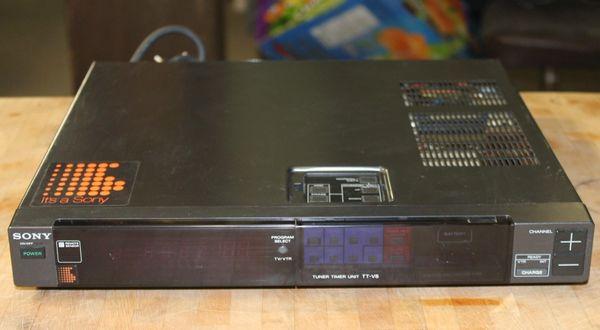 Sony Tuner/Timer Unit