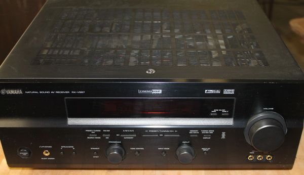 Yamaha RX-V 337 Stereo 6 Channel Receiver w/ Remote
