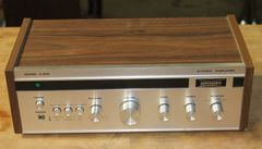 Vintage Superscope By Marant 2 w/ Silver Face Stereo Amplifier