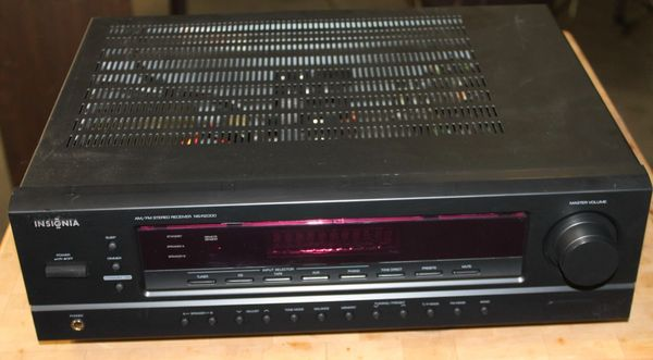 Insignia NS-R2000 2 Channel AM/FM Stereo Receiver