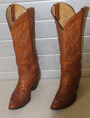 Justin High Top Cowboy Boots-11B