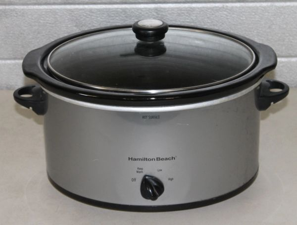 Hamilton Beach Stainless Steel Slow Cooker/Crock Pot
