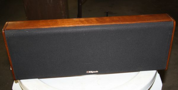 Vintage Klipsch KV3 Walnut Center Speaker