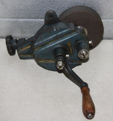 Vintage Craftsman Bench Top Hand Crank Grinder