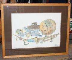"""Lucky Boy"" Framed Print signed by C. Don Ensor"
