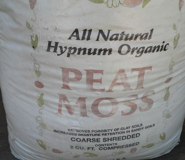 3/4 Bag of Organic Peat Moss