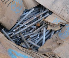 22 lbs of Common 40 Steel Nails