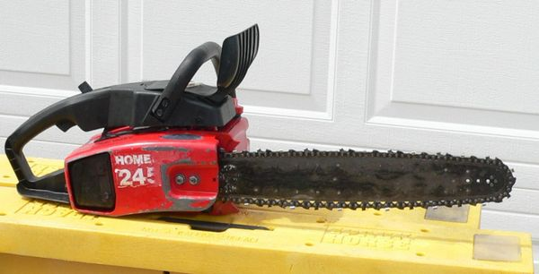Vintage Homelite 245 Gas Chainsaw