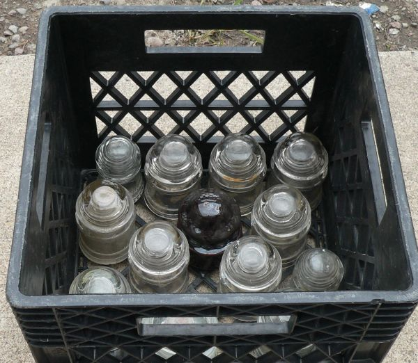 11 Glass Insulators