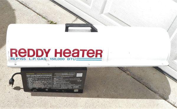 Reddy Heater RLP155 150,000 Btu Propane Heater