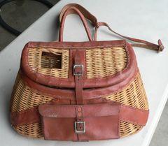Fishing Creel/Basket Made in British Hong Kong