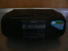 Sony CD Radio Cassette Recorder.