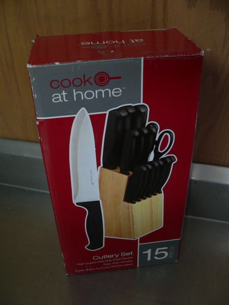 Cook At Home 15 Pc Cutlery