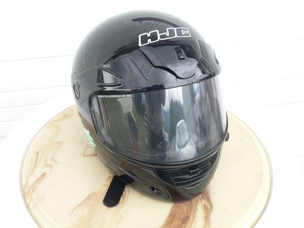 HJC Black Full Face Helmet