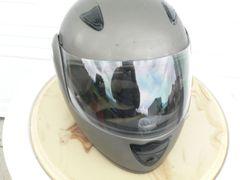 Grey Full Face Helmet