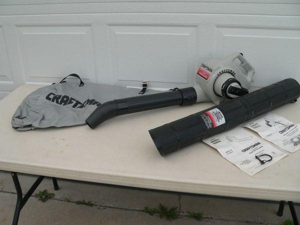 Sears/Craftsman 1 HP Electric Power Blower w. Vacuum