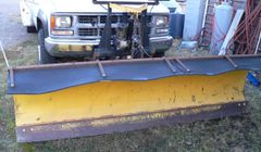 Fisher Minute Mount 9' Angle Snow Plow