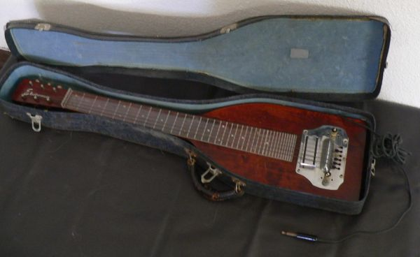 Electromuse Electric Lap Steel Guitar with Original Case