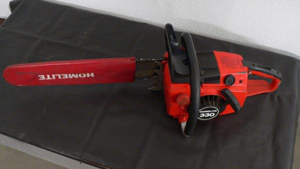 "Homelite 330 Chainsaw with 20"" Bar"