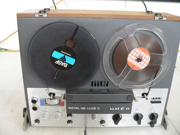 UHER Royal Deluxe Reel To Reel Tape Recorder