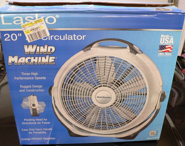 "Lasko 20"" Wind Machine Fan"